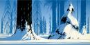 Winter - Eyvind Earle - Gallery 21