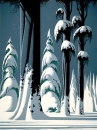 Yosemite - Eyvind Earle - Gallery 21